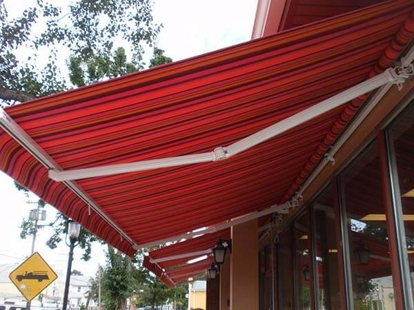 Retractable Awnings for businesses and homes installed in NJ.